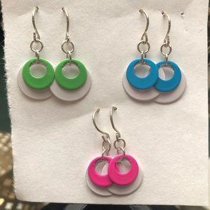 Jewelry - THREE (3) Pair Set of    M I N I   M O D  Earrings